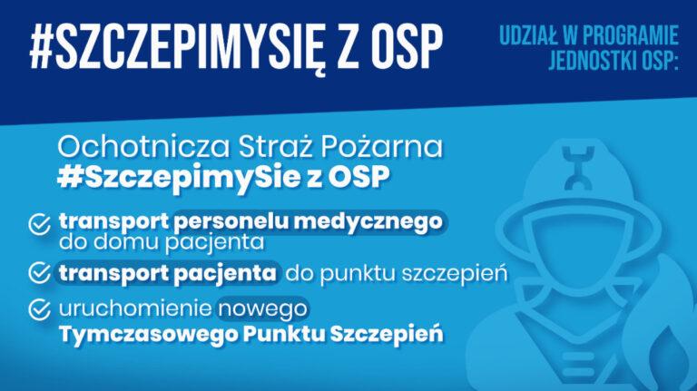 Szczepimy się z OSP